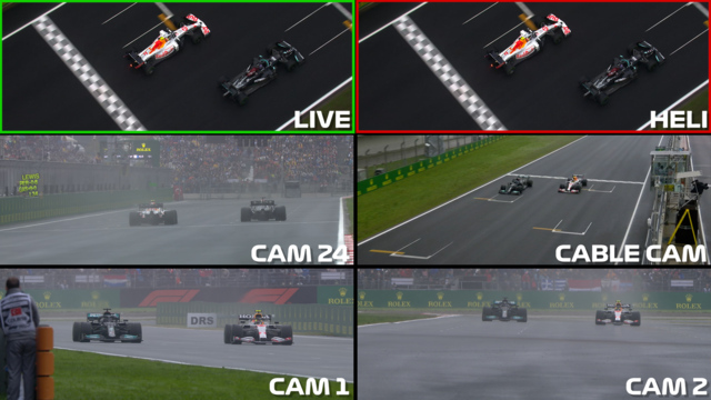 DIRECTOR'S CUT: Watch all the angles of Hamilton and Perez's epic battle at the Turkish Grand Prix