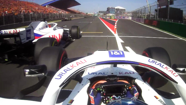 2021 Dutch Grand Prix: Haas team mates Schumacher and Mazepin make contact