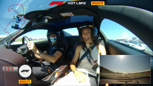 WATCH: US Open winner – and F1 fan – Emma Raducanu's hot lap of Silverstone   Formula 1® - Formula 1 RSS UK
