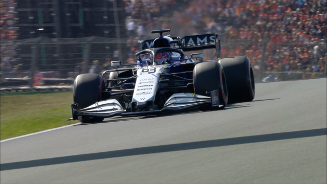 2021 Dutch GP Qualifying: Williams team mates Russell and Latifi crash out of Q2