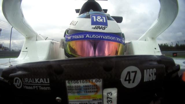 2021 Turkish GP Qualifying: Mick Schumacher reacts to reaching Q2