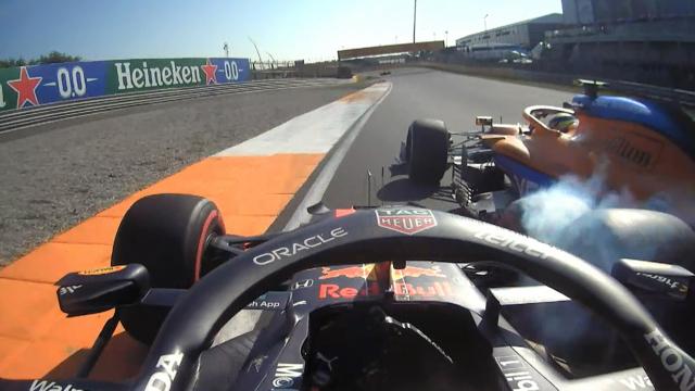 2021 Dutch Grand Prix: Pérez makes heavy contact with Norris