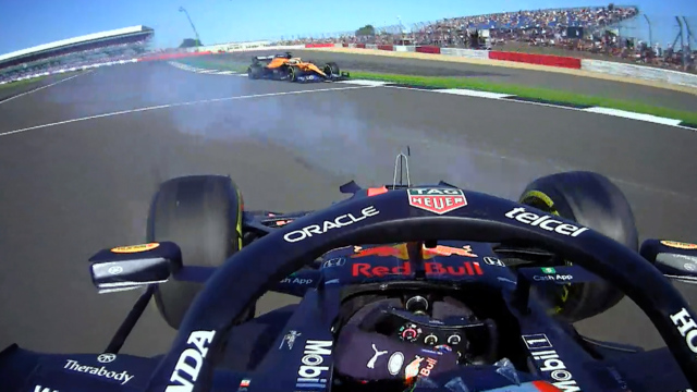 2021 British GP F1 Sprint: Pérez plummets to P19 after huge spin
